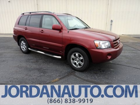 Used Toyota Highlander w/3rd Row & 188 Used Cars Trucks SUVs in Stock in South Bend | Jordan Toyota markmcfarlin.com