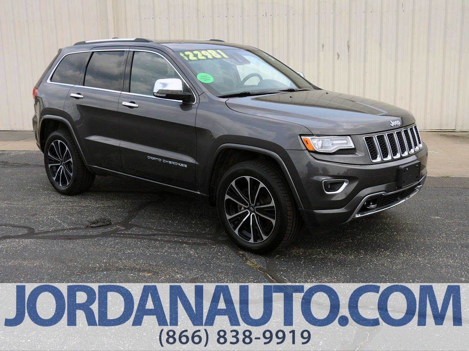 Pre Owned 2014 Jeep Grand Cherokee Overland Sport Utility in