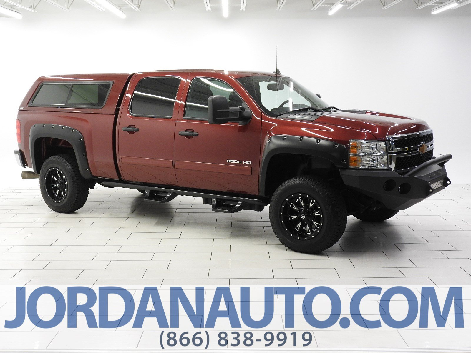 Pre-Owned 2013 Chevrolet Silverado 3500HD SRW LT