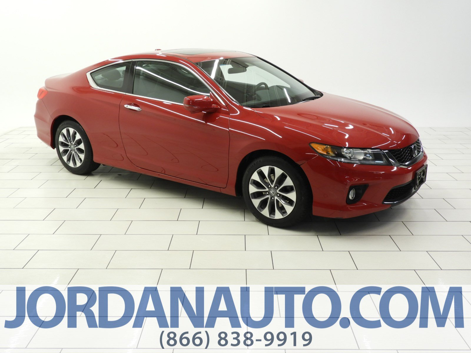 Pre-Owned 2013 Honda Accord Cpe EX-L
