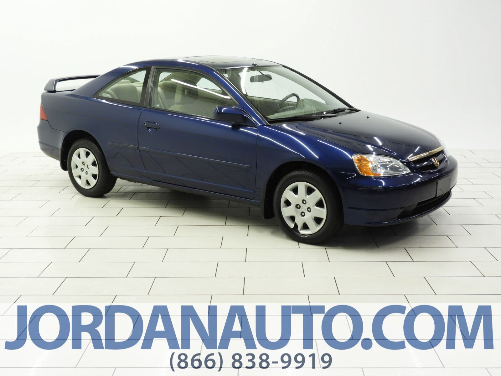 Pre-Owned 2001 Honda Civic EX