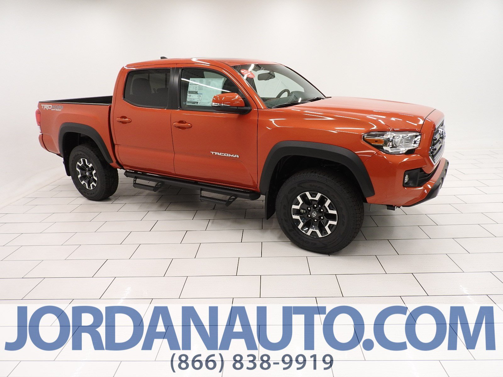 New 2017 Toyota Ta a TRD f Road Double Cab in Mishawaka