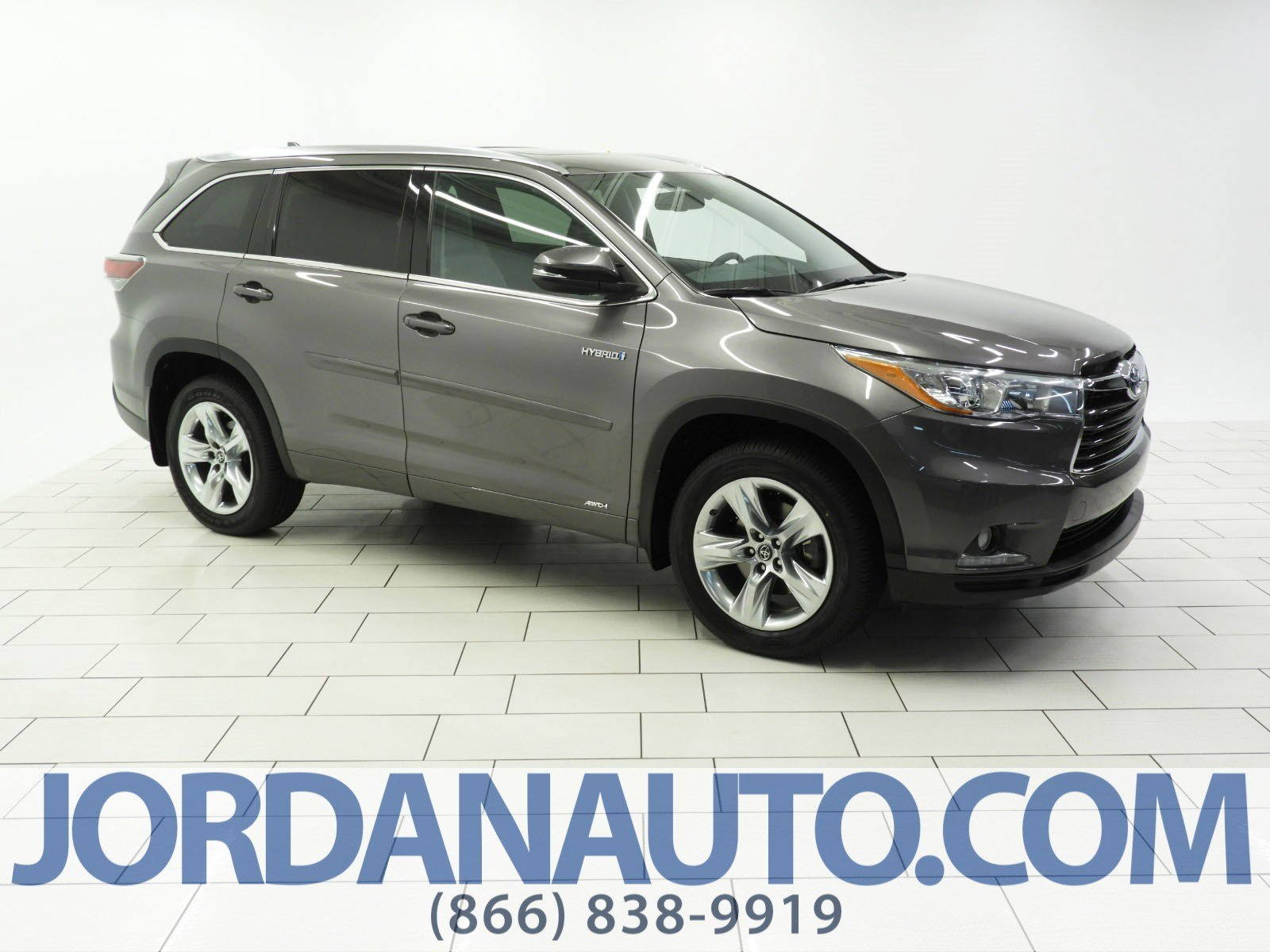 Certified Pre-Owned 2016 Toyota Highlander Hybrid Limited
