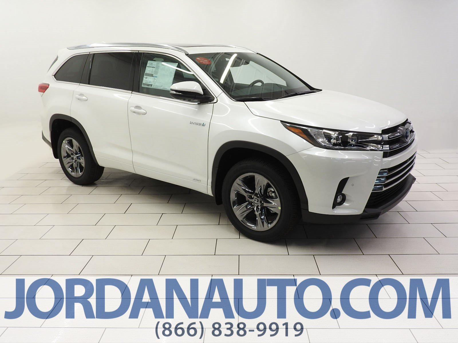 New 2019 Toyota Highlander Hybrid Hybrid Limited Platinum
