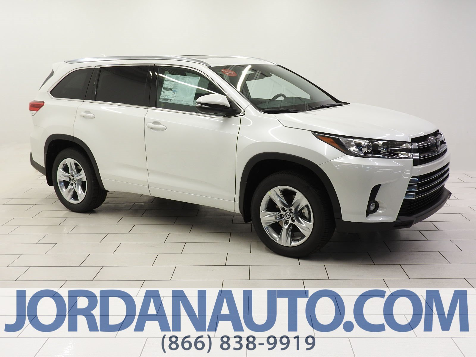 Toyota Highlander Limited >> New 2019 Toyota Highlander Limited Sport Utility Awd